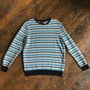 ASOS Patterned Pullover Sweatshirt